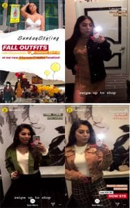 Forever21's Instagram Stories showed off their Fall Collection