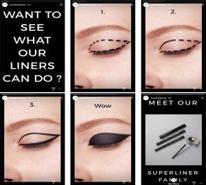 Loreal's DIY tips for using their superliner family