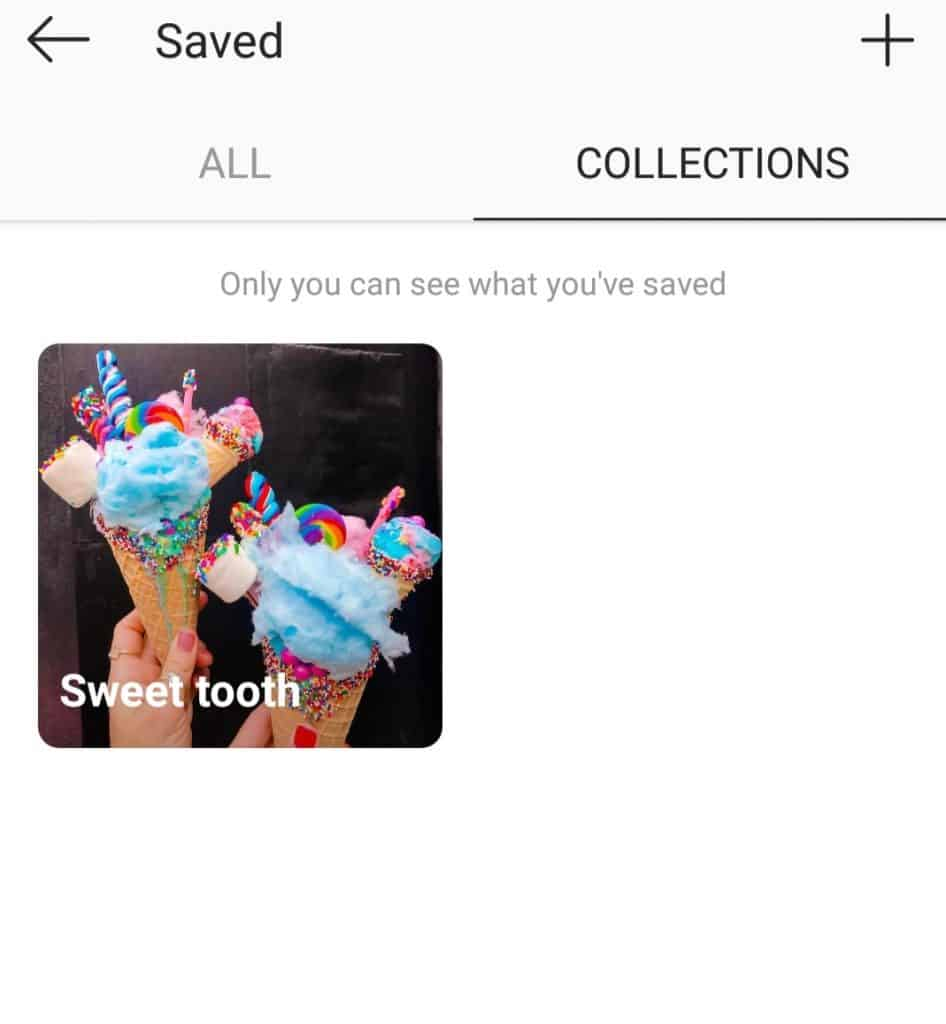 Instagram Saved Collection