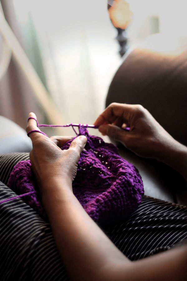 If you think you have an Instagram addiction, do a digital detox and plan how to spend your time instead. Try knitting!