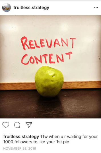 HootSuite's relevant content account