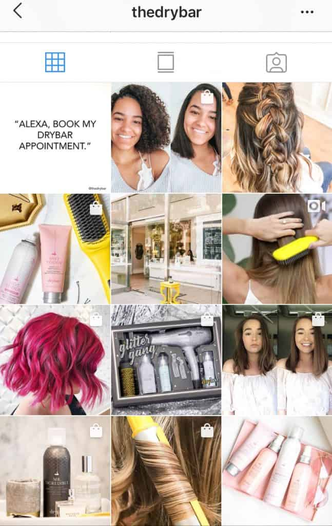 pop of yellow instagram feed