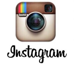 original instagram logo and font