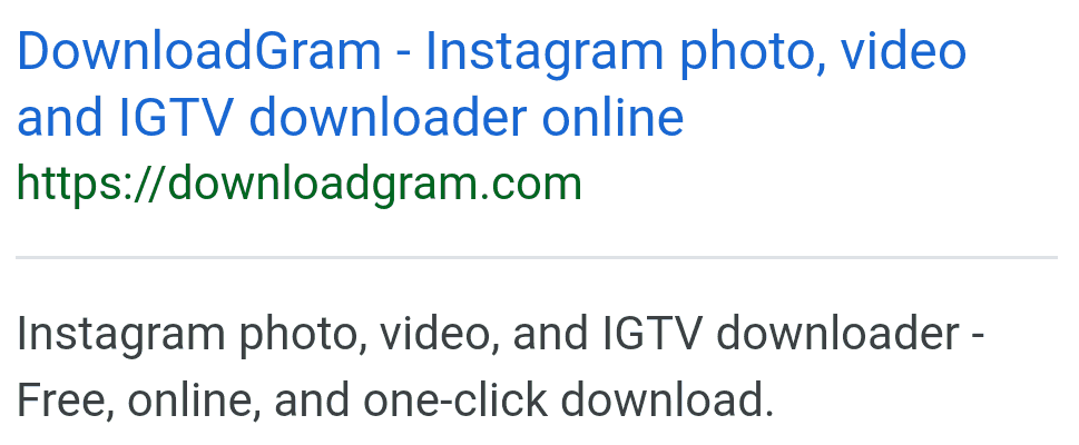 DownloadGram meta description