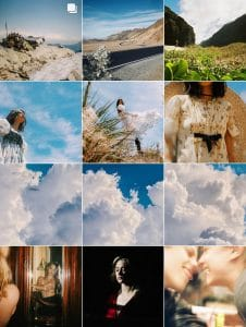 Cole Sprouse's Consistent Instagram Theme