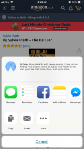 The Bell Jar Link On Amazon