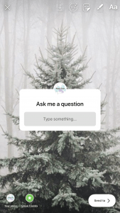 Ask Questions On Instagram