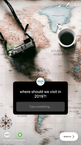 Travel Question Instagram Map