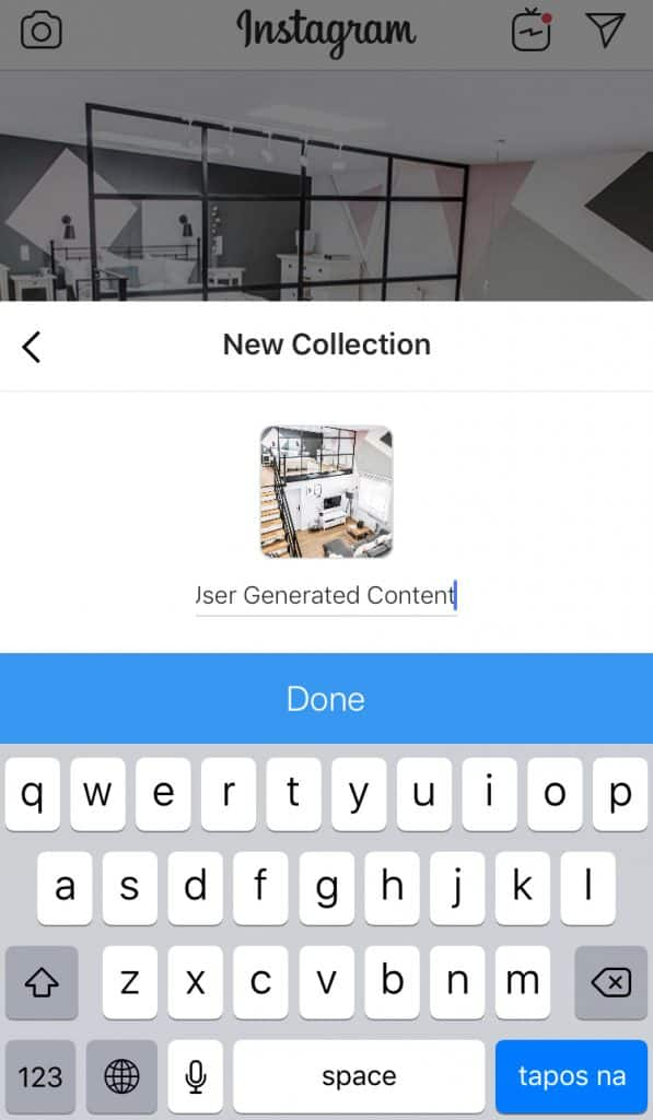 How to create new Instagram Collections 4