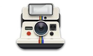 Cartoon Polaroid Instagram Camera