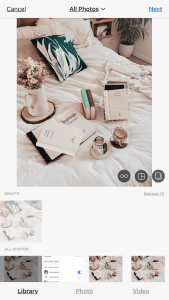 Books On Bed Pictured Saved As Draft On Instagram