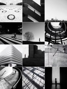 Black And White Instagram Account Grid