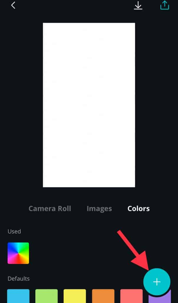 How to use Canva Step 4