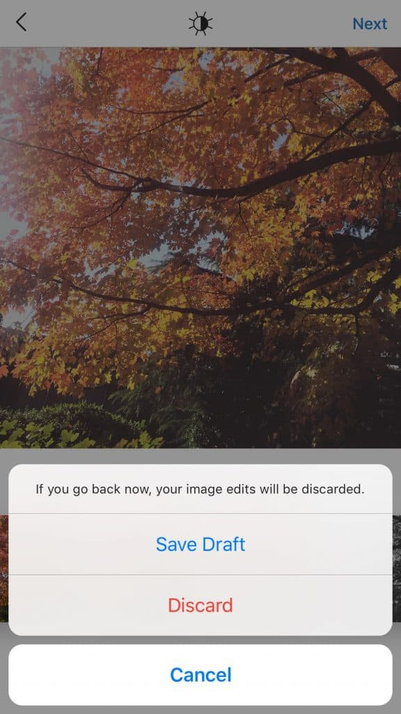 Save posts as drafts