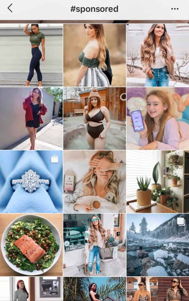 sponsored posts instagram explore