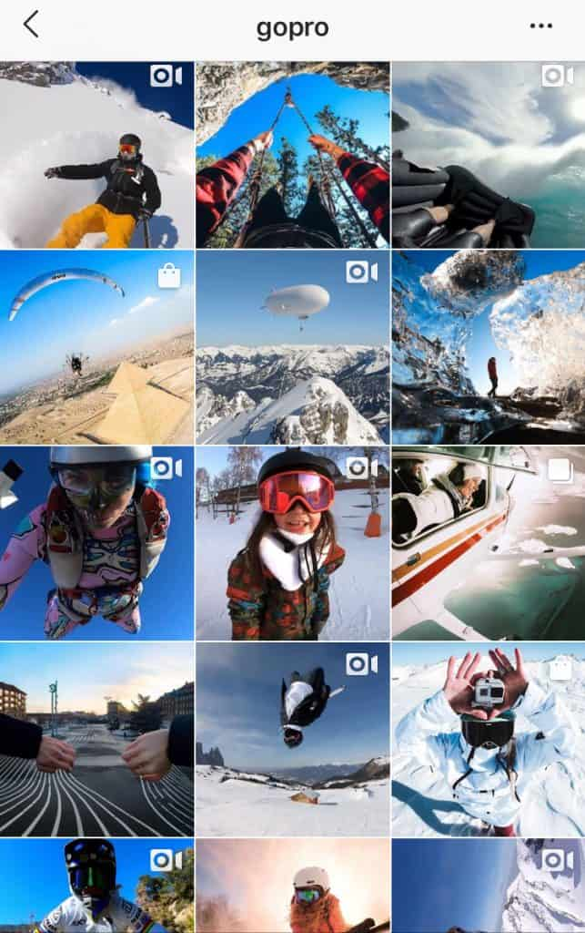 how to create a brand sample from GoPro
