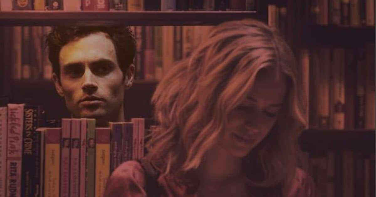 Scene of Penn Badgley in You