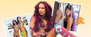 Sasha Banks' Instagram profile