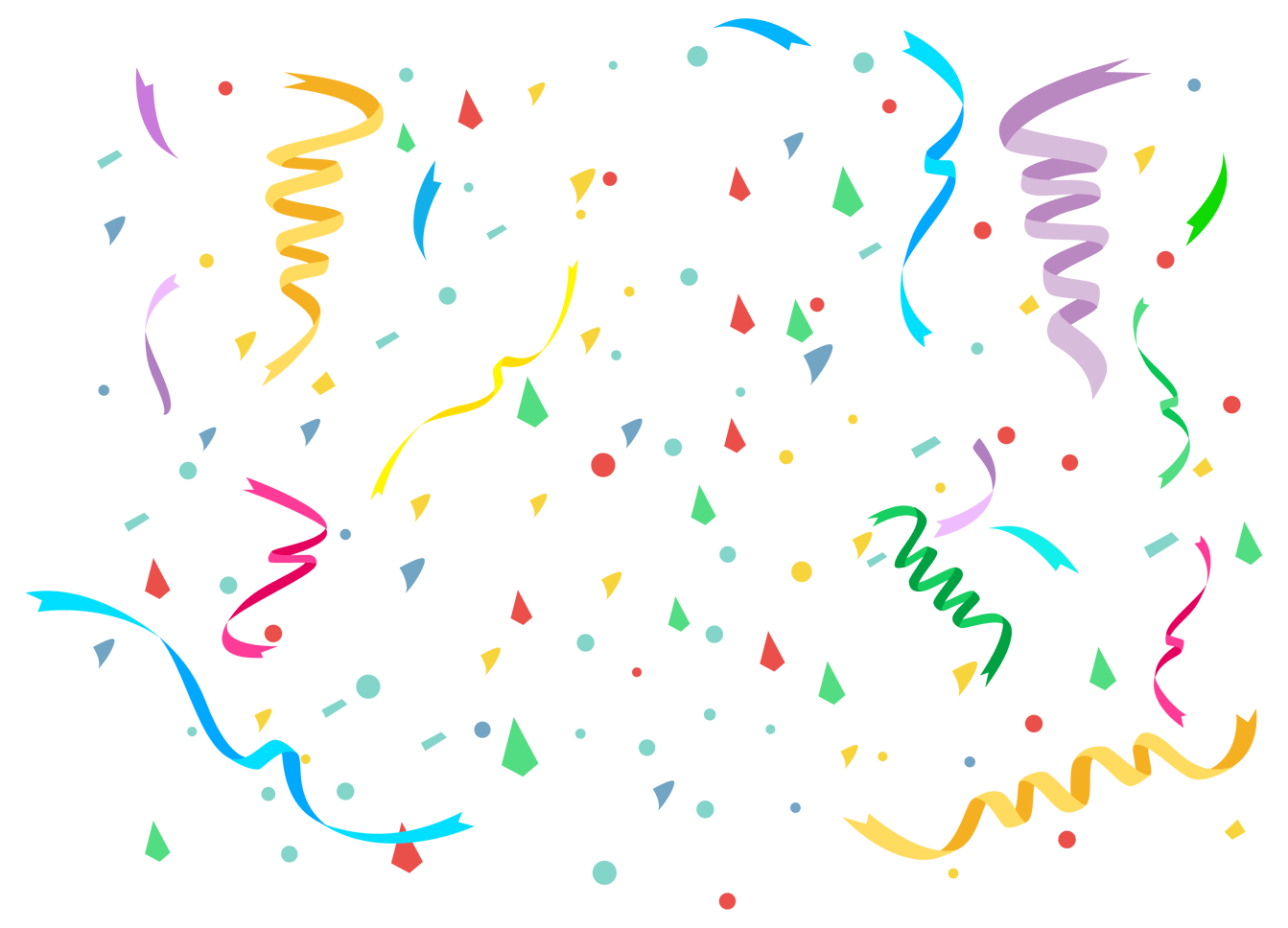An Image of Confetti by Upleap